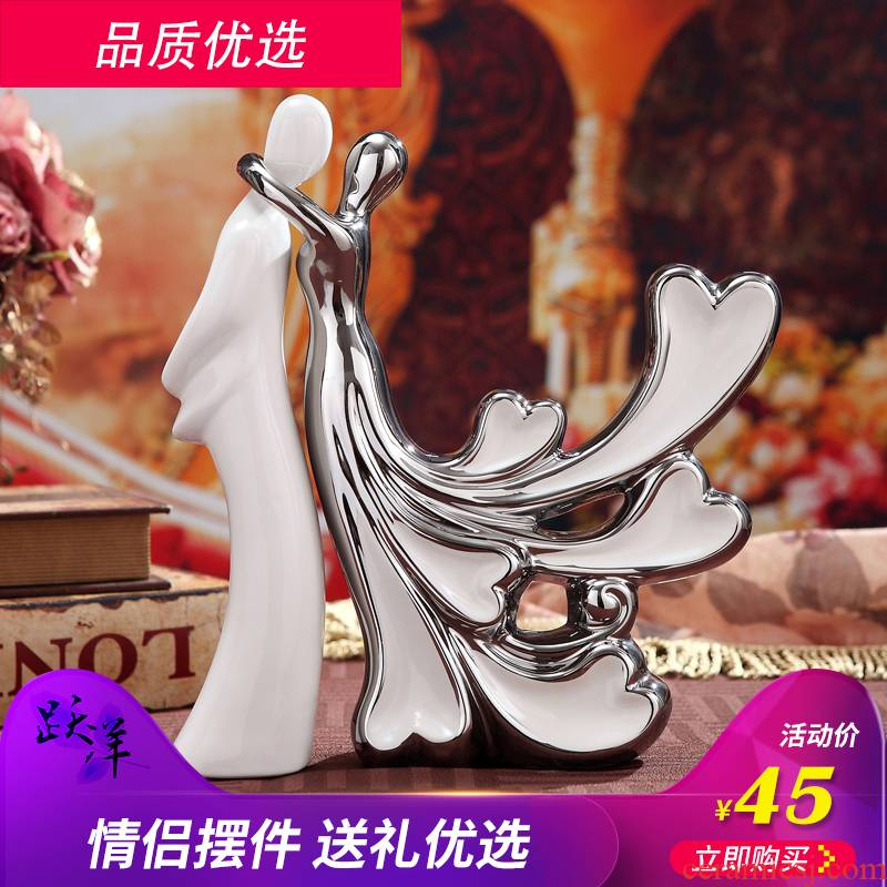 Jump the picking furnishing articles ceramic decoration creative household act the role ofing is tasted, the sitting room TV ark, wine accessories