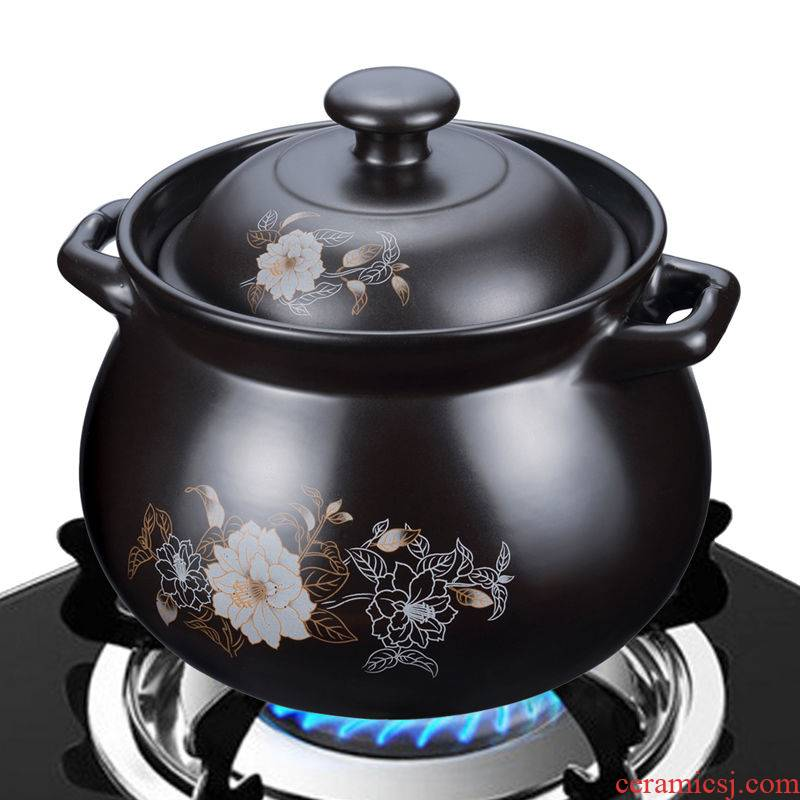 Hui shi casserole high - capacity soup pot 7300 ml to 2800 ml high - temperature flame burns ceramic stew pot soup pot 1