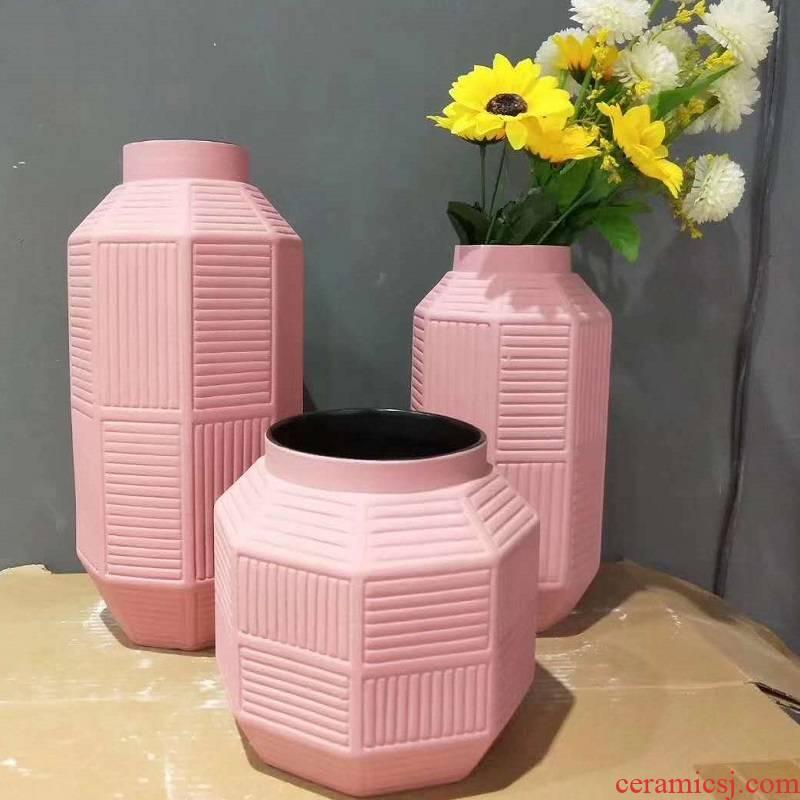 Jingdezhen porcelain tea place pink 980