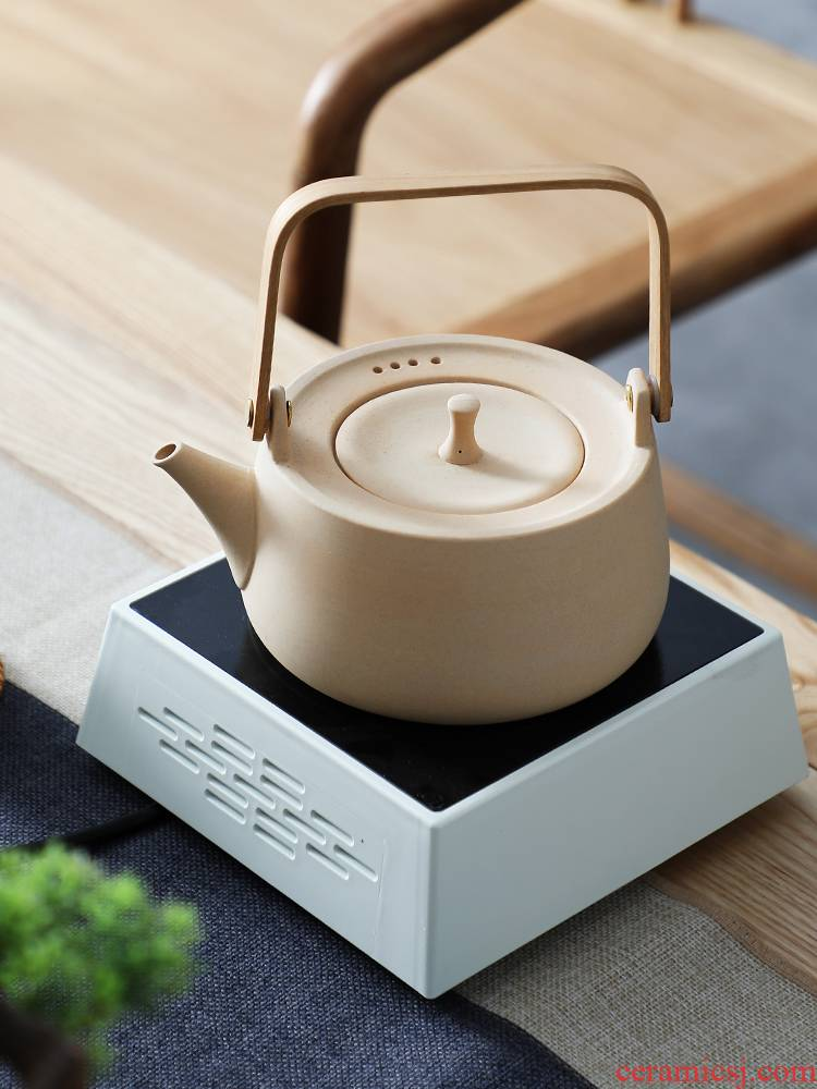 Coarse clay POTS hot pot boiling kettle blisters electric teapot TaoLu mini kung fu tea tea stove electric furnace