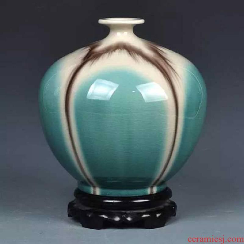 Jingdezhen kilns vase, 380