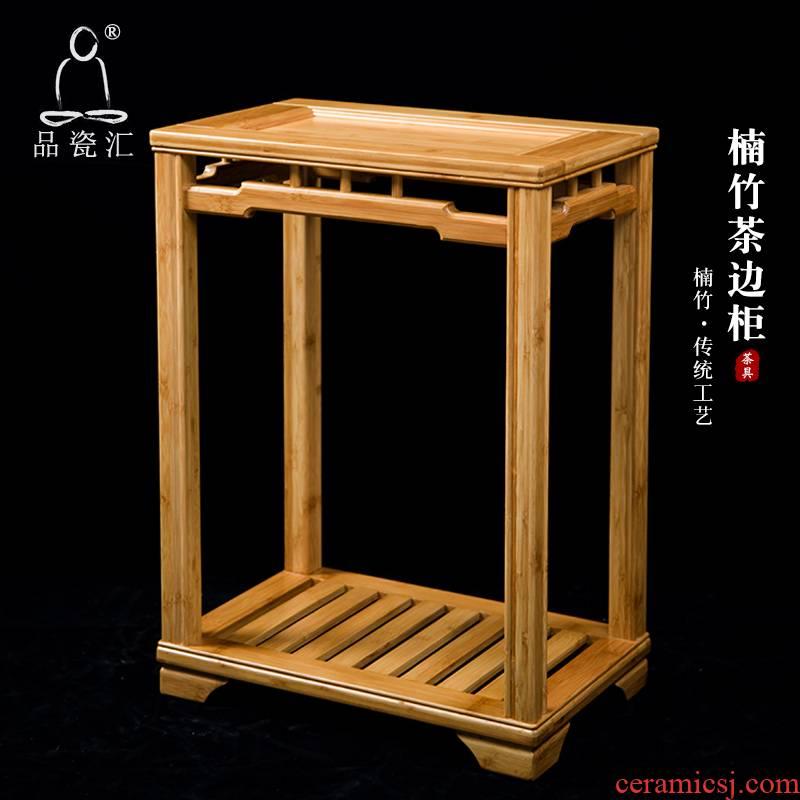 Porcelain sink contracted nanzhu tea eat edge ark cabinet tea table while what solid wood shelf receive tea tea ano side frame