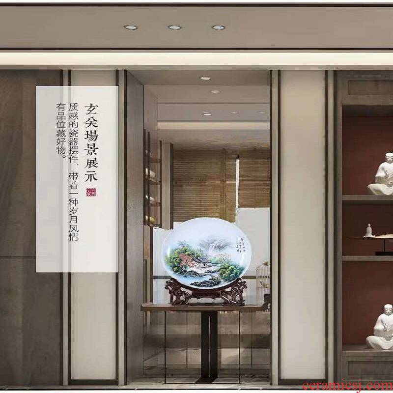 Jingdezhen porcelain plate 480