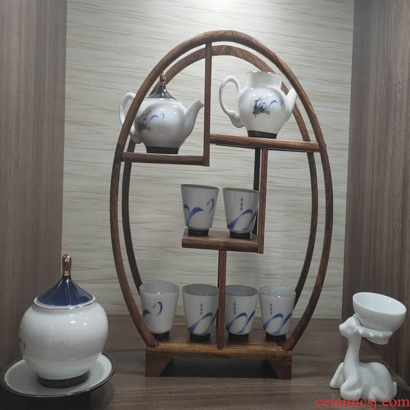 Jingdezhen porcelain tea set 980..