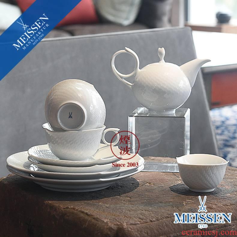 German mason MEISSEN porcelain wave series of pure magic teapot teacup tea set group