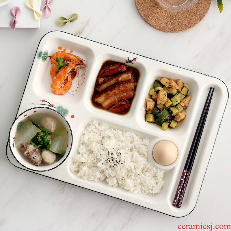 Japanese ceramics creative household dish dish dish snack plate frame web celebrity particulary if plate tray is one food tableware
