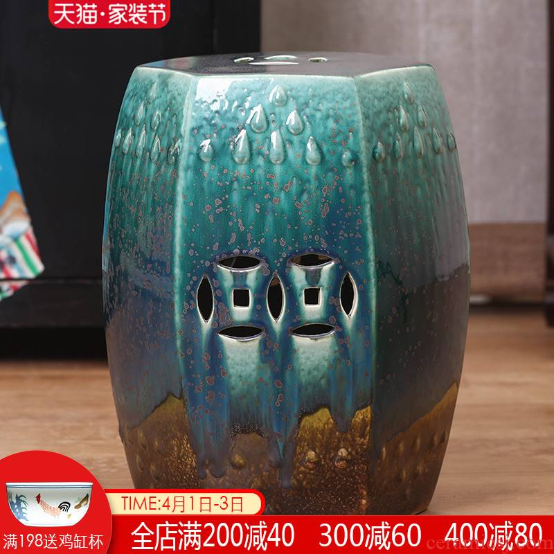 Jingdezhen ceramic drum who to restore ancient ways is suing creative new Chinese style manual who cold pier who toilet who in shoes