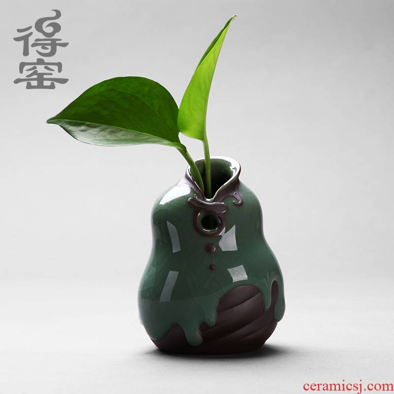 Shadow at zen tea elder brother up pet vase furnishing articles checking ceramic flower implement contracted sitting room of rural household decorations