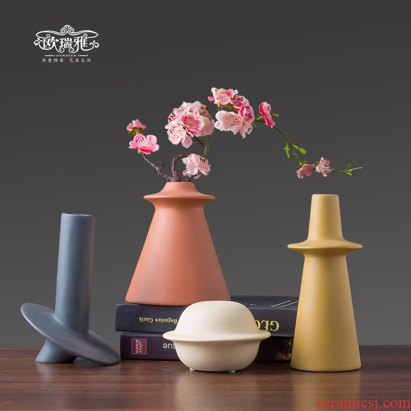 Morandi contracted ceramic vase furnishing articles sitting room the bedroom TV ark, study restaurant show porch decoration