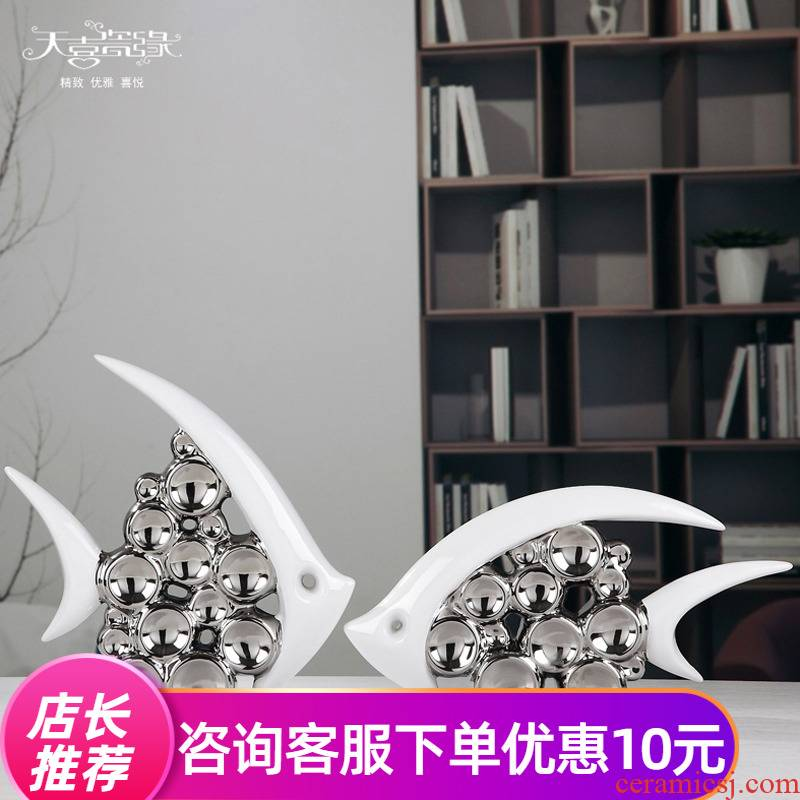 I and contracted sitting room porch creative ceramic furnishing articles new home wine Nordic light key-2 luxury room decoration household act the role ofing is tasted