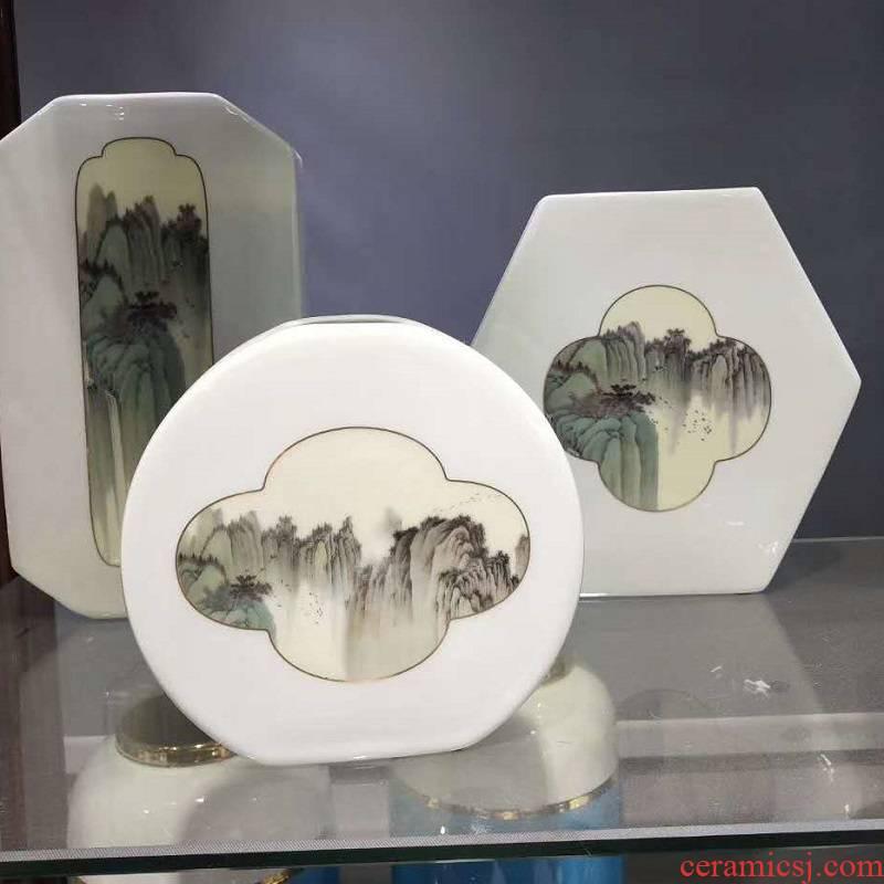 Jingdezhen porcelain furnishing articles 3 piece 1280 range