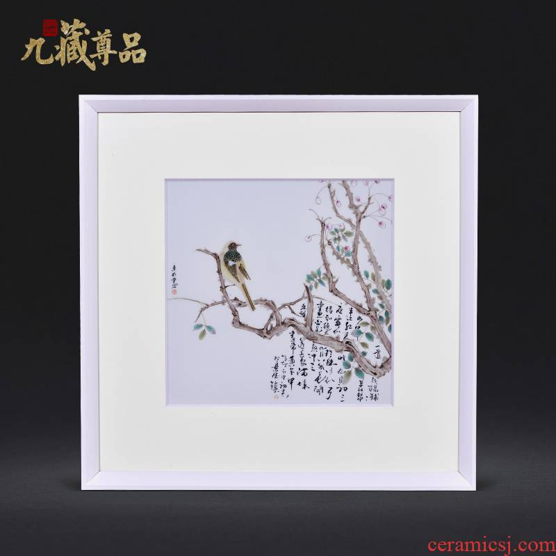 Cixin qiu - yun dong - Ming li famous jingdezhen ceramics hand - made figure adornment porcelain plate paintings of Chinese style household decoration