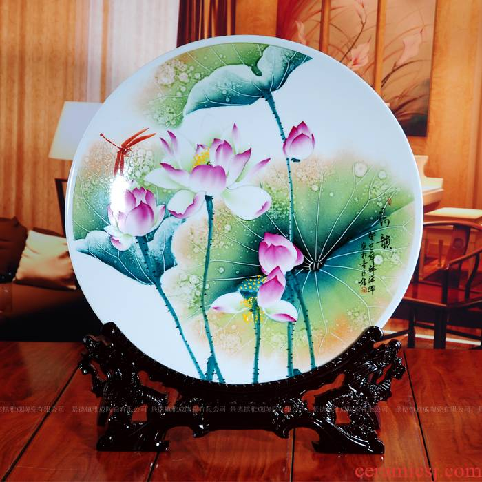 Jingdezhen decorative hand - made porcelain rhyme furnishing articles quietly elegant of modern fashion crafts and gifts furnishing articles