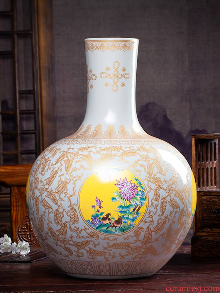 Archaize of jingdezhen ceramics up Chinese vase fuels the sitting room TV cabinet study furnishing articles crafts gifts