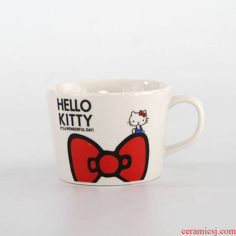 Clearance cost cartoon cup to KT, hello Kitty, ceramic cup miffy rabbit bear cup easily