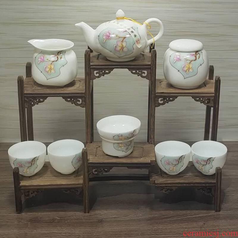 Jingdezhen porcelain tea set. 980