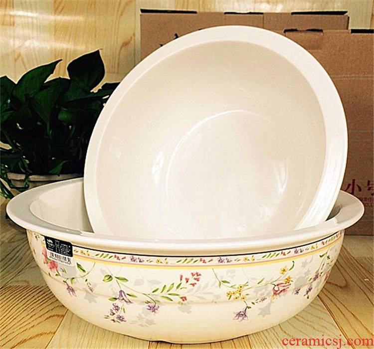 Jade which 1992 ceramic and the basin that wash a face with thick soup basin basin basin old - fashioned traditional porcelain basin package mail