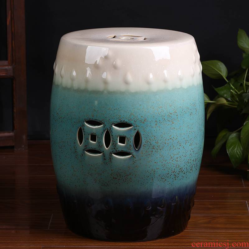 Jingdezhen ceramic stools in shoes who furnishing articles contracted and I sitting room drum who household act the role ofing is tasted arts and crafts