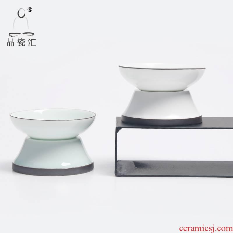 The Product porcelain hui xuan wen zen) ceramic tea tea filter filter tea accessories