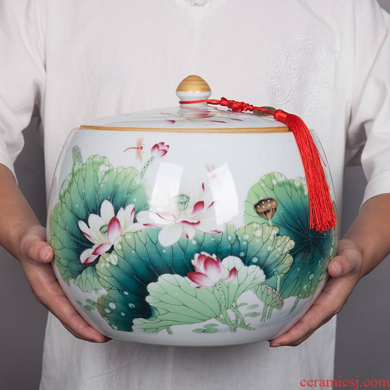 Household act the role ofing is tasted furnishing articles sealed tank storage tank of jingdezhen ceramics Household act the role ofing is tasted furnishing articles sealed storage tank
