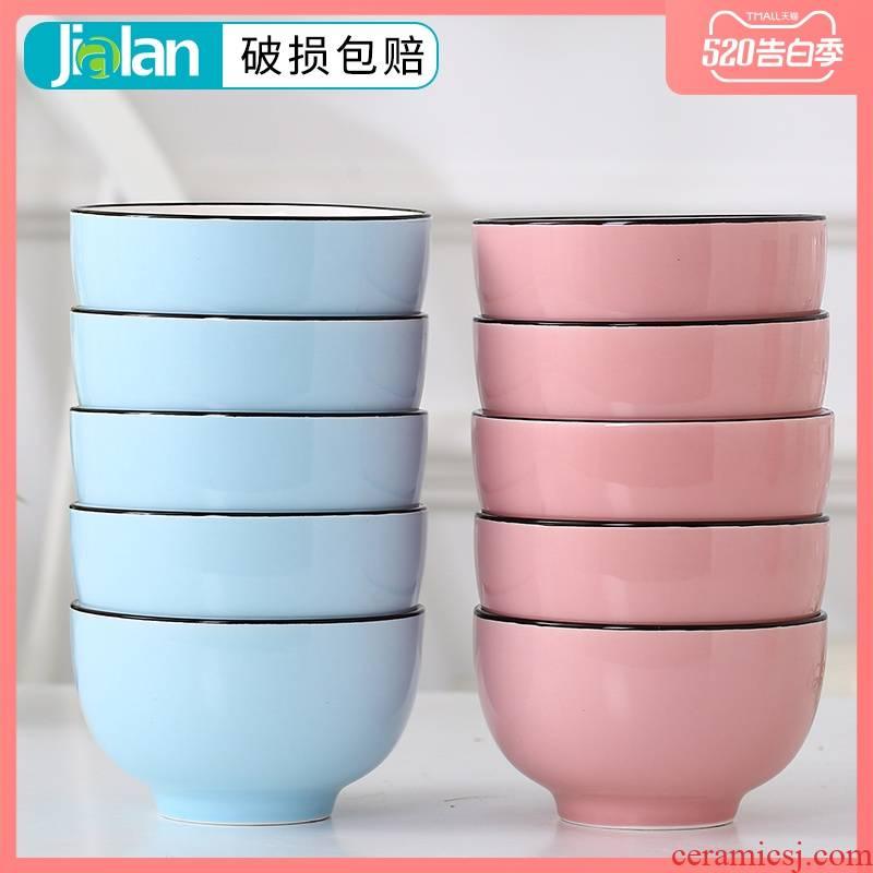 Garland ceramic rice bowl 10 home to eat noodles bowl upset more glaze ins web celebrity nice bowl