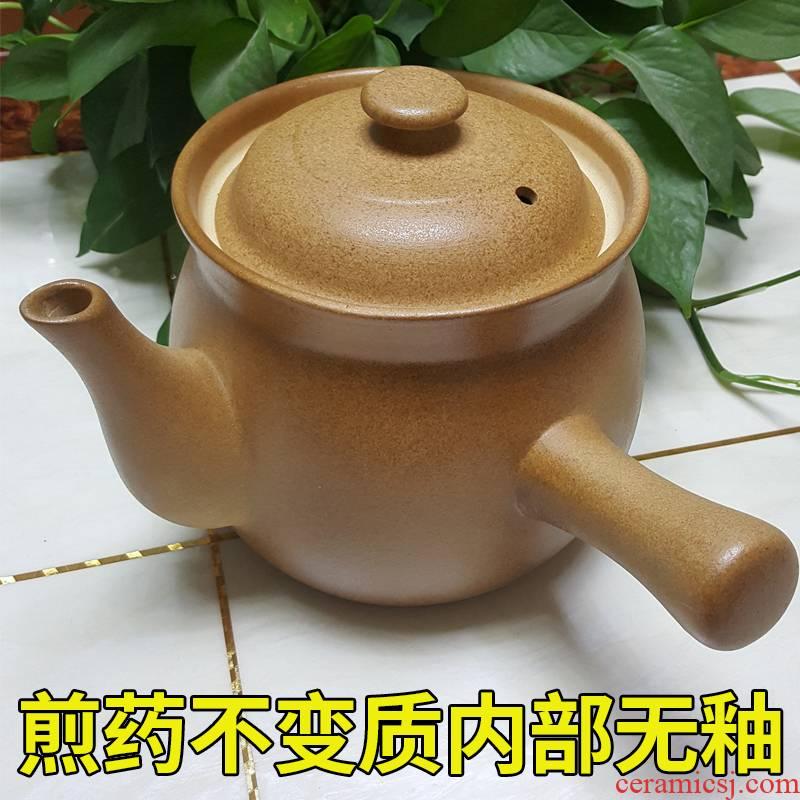 Hui shi have medicine earthenware pot cooking pot tisanes boil medicine jar ceramic high - temperature household gas flame