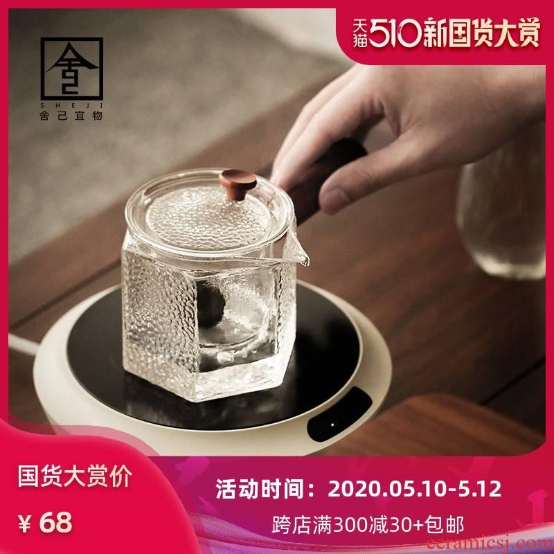 Not hot electricity TaoLu boiled tea cooked this teapot tea ware glass tea pot an artifact tea, white tea