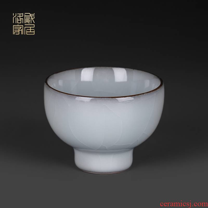 Guanyao sample tea cup jingdezhen ceramic cups high - end tea sets, small single CPU single master cup kung fu tea cups