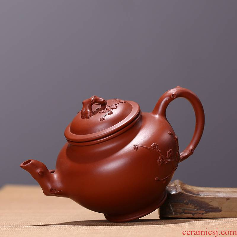 Yixing masters are it pure manual undressed ore old purple clay teapot kung fu tea sets tea cup teapot household