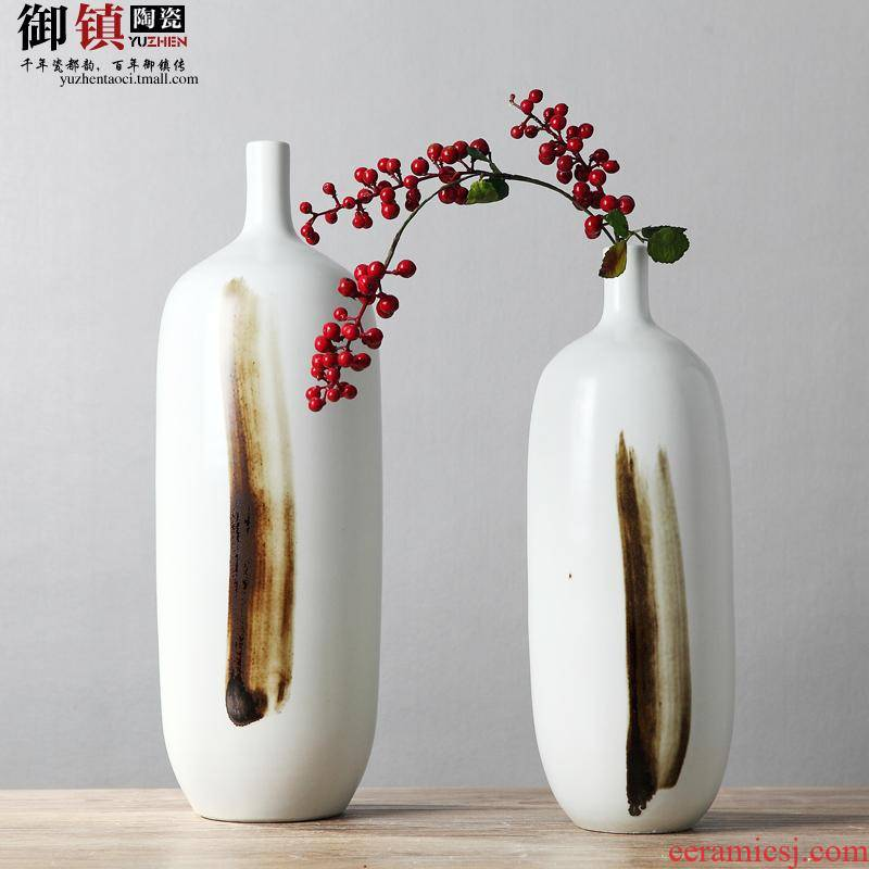 The Modern home decoration ceramic TV ark, place the sitting room porch creative art vase decoration