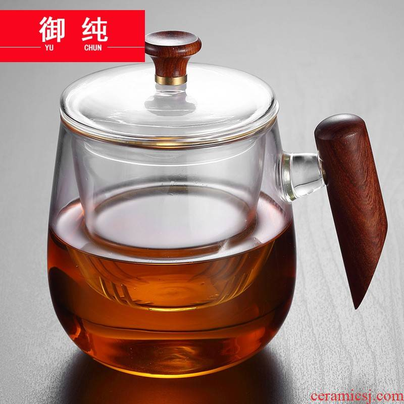 Royal separation of pure Japanese tea glass creative glass filter contracted move make tea cup home office