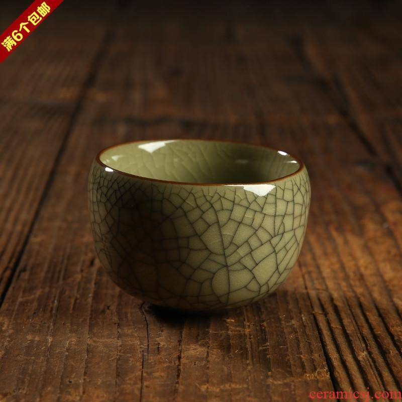 Special celadon pu 'er kung fu tea cups ceramic tea set single cup sample tea cup master cup individual cups