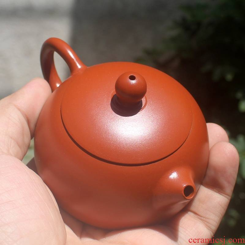 Chaozhou hand pot of mini little teapot kung fu tea set beauty are it levels pot of small purple sand teapot manual
