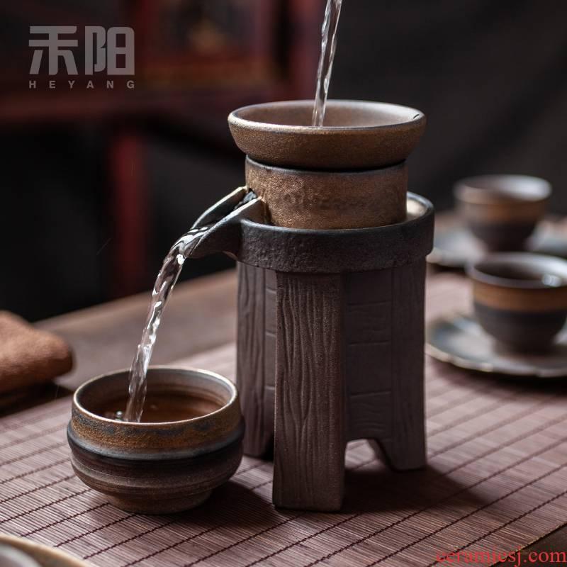Send Yang creative) tea suit filter good lazy teapot mesh filter tea tea tea accessories
