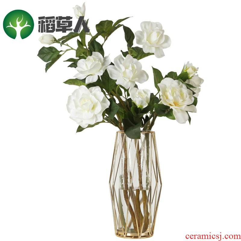 Northern wind simulation flowers, artificial flowers, decorative furnishing articles sitting room tea table table office floral bouquets of table decoration