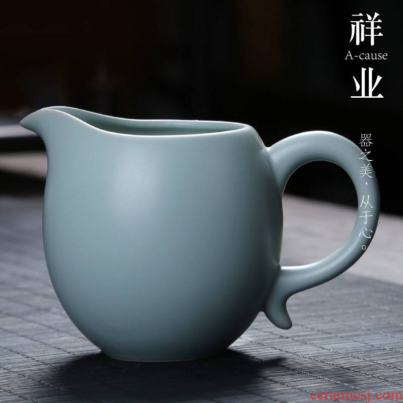 Auspicious industry fair keller your up open a piece of ice to crack large tea and a cup of tea sea points kung fu tea set your porcelain ceramics