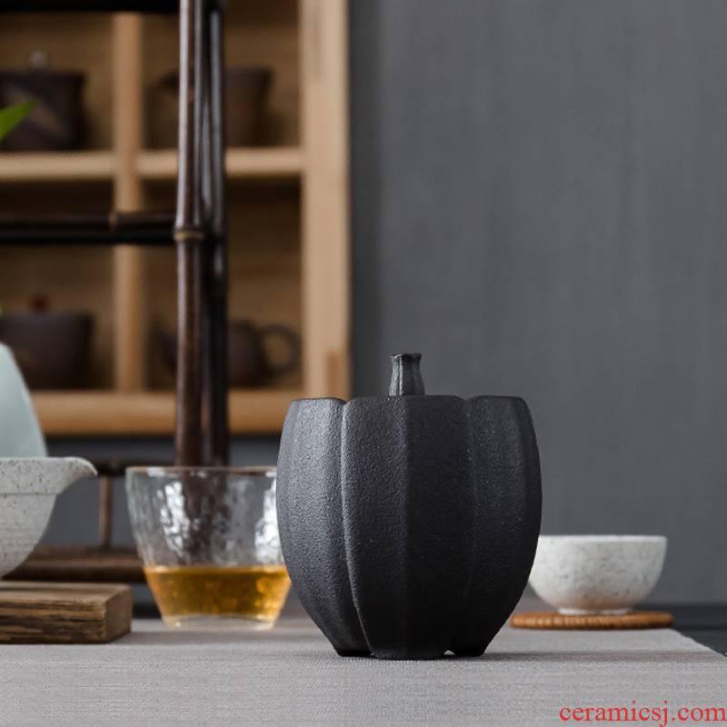 Tea pot ceramic seal in half jins of household pu bulk storage tanks large Tea box packaging moistureproof