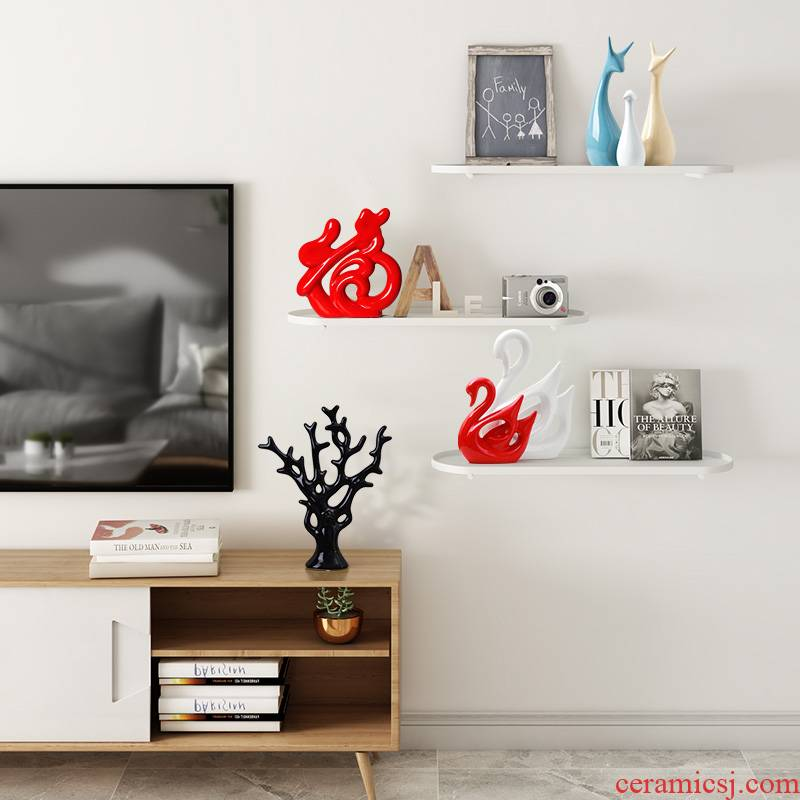 Creative wine furnishing articles furnishing articles marca dragon deer home decoration ceramics handicraft TV ark adornment,