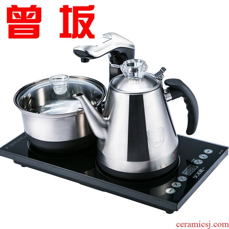 Once sitting is an electric kettle fully automatic electric kettle set up household intelligent glass tea kettle