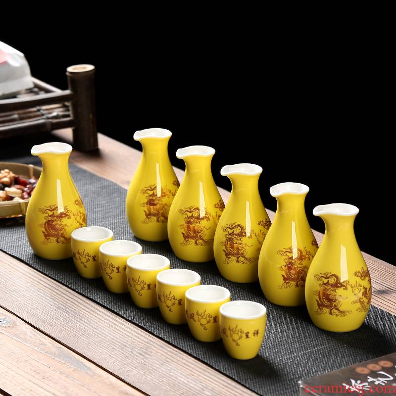 Japanese porcelain constant hall creative ceramic wine liquor cup of liquor cup small wine package hip points a small handleless wine cup of wine