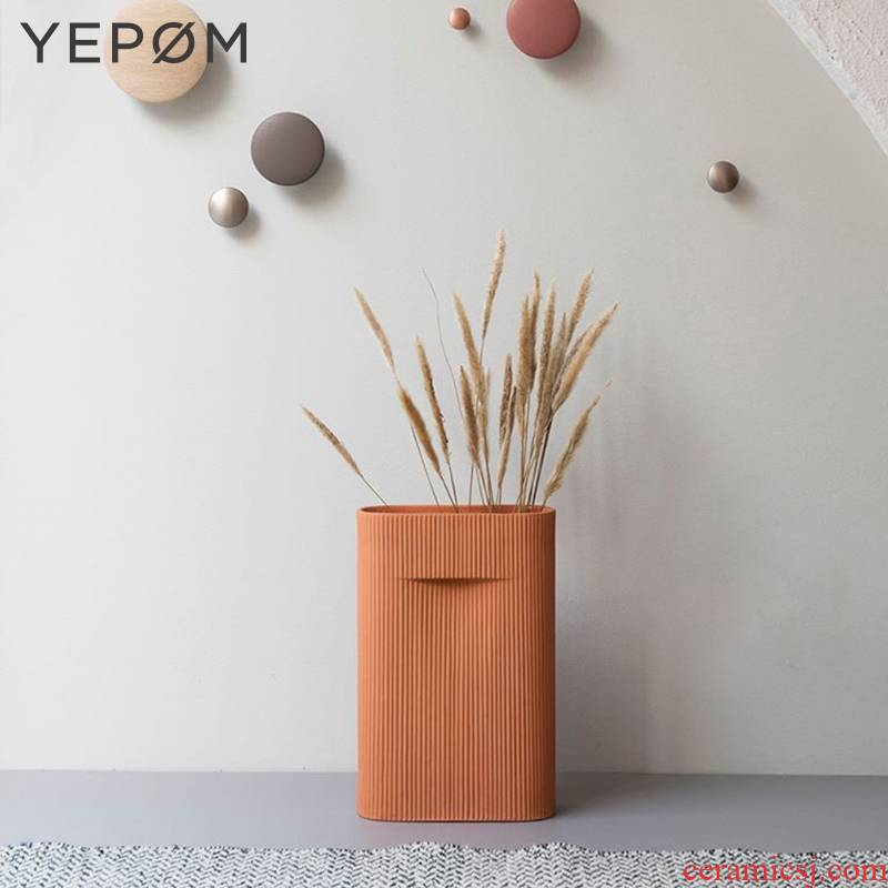 The Spot Denmark import Muuto Ridge Vase Vase clay its of large vases, furnishing articles floral outraged