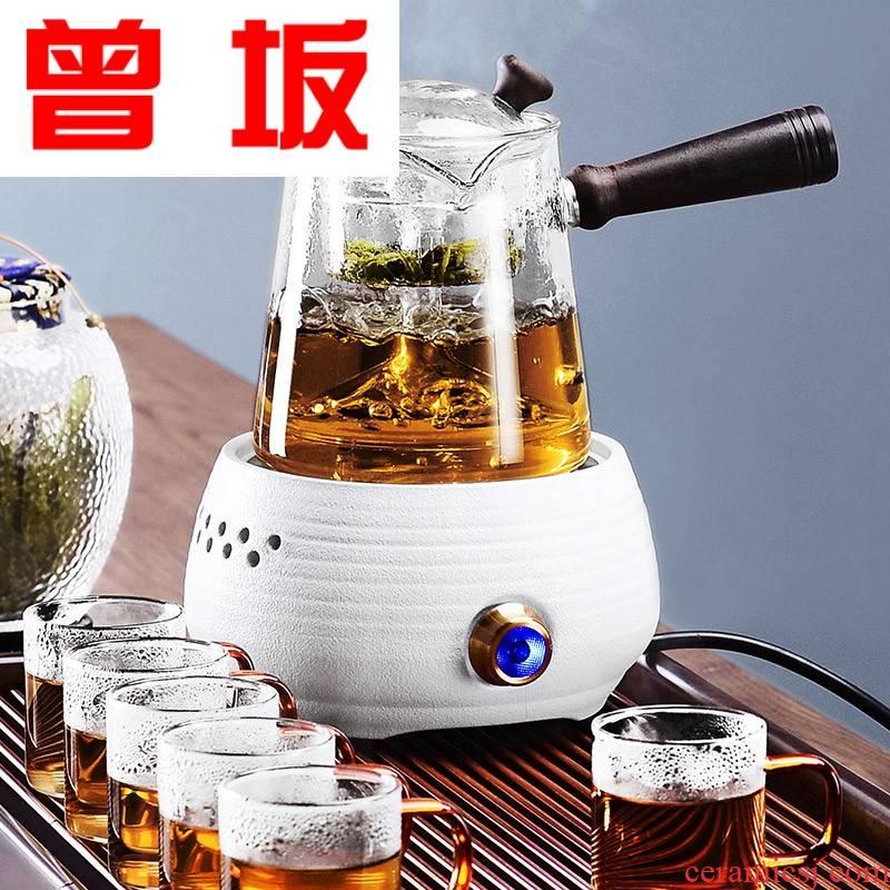 The Who -- boiled tea ware glass steam automatic small capacity TaoLu pu - erh tea, black tea kettle boiling pot insulation electricity