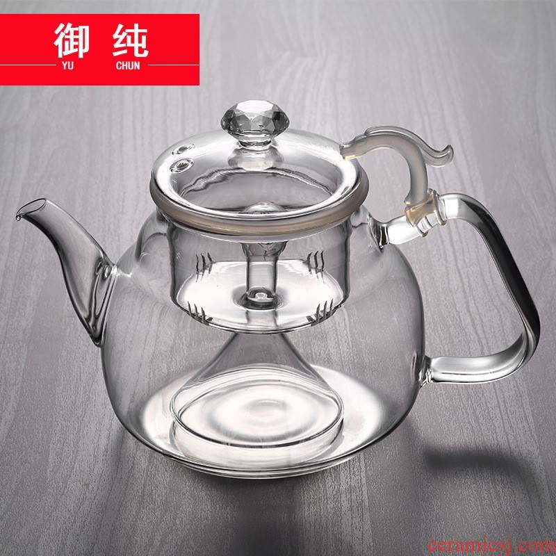 Royal pure high temperature resistant glass teapot large kettle electric TaoLu cooking pot large capacity of the teapot