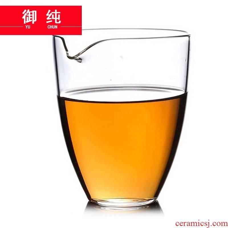 Royal pure Japanese manual heat are fair keller cup points of Taiwan tea, high temperature resistant tea set