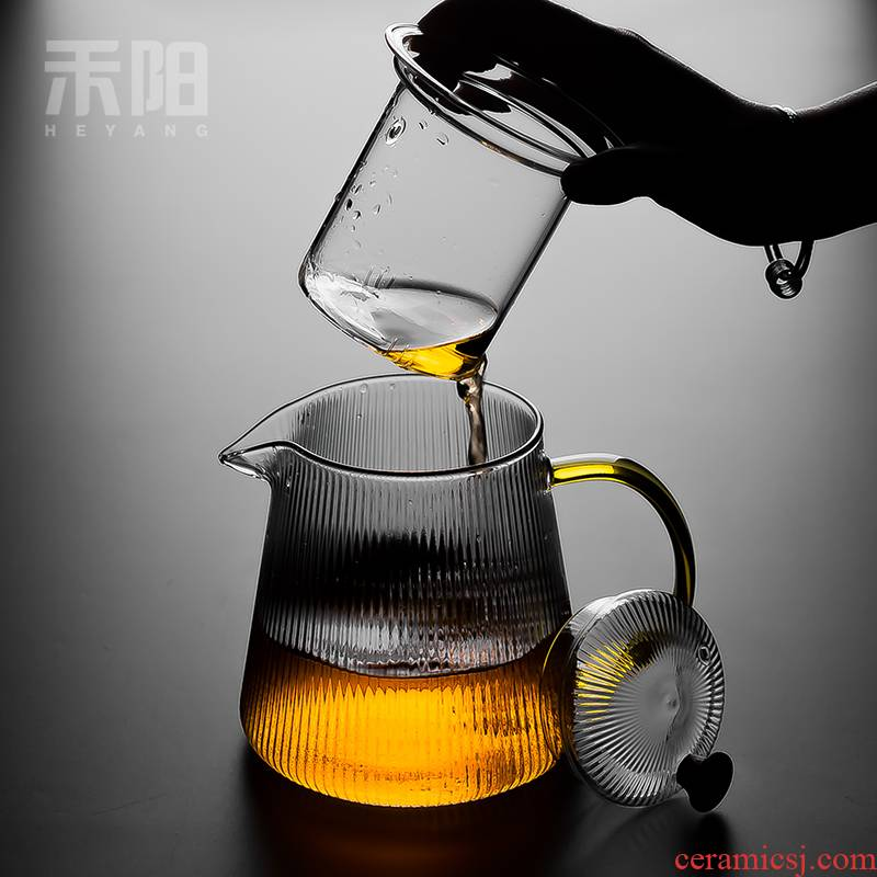 Send Yang filter glass teapot teapot high - temperature cooking pot electricity TaoLu household large flower pot office