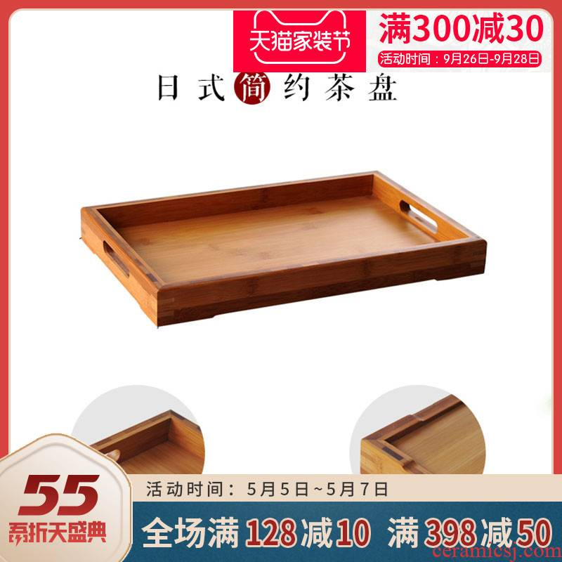 Ceramic story rotz bamboo bamboo tea tray tray base cracks tea tray was kung fu tea tea accessories package mail