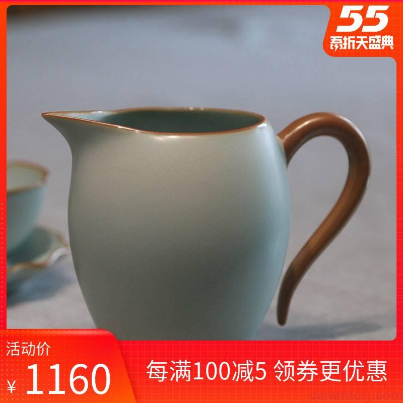 Your up ceramic craft and fair keller cup single points jingdezhen porcelain tea sets tea is tea sea celadon gift boxes
