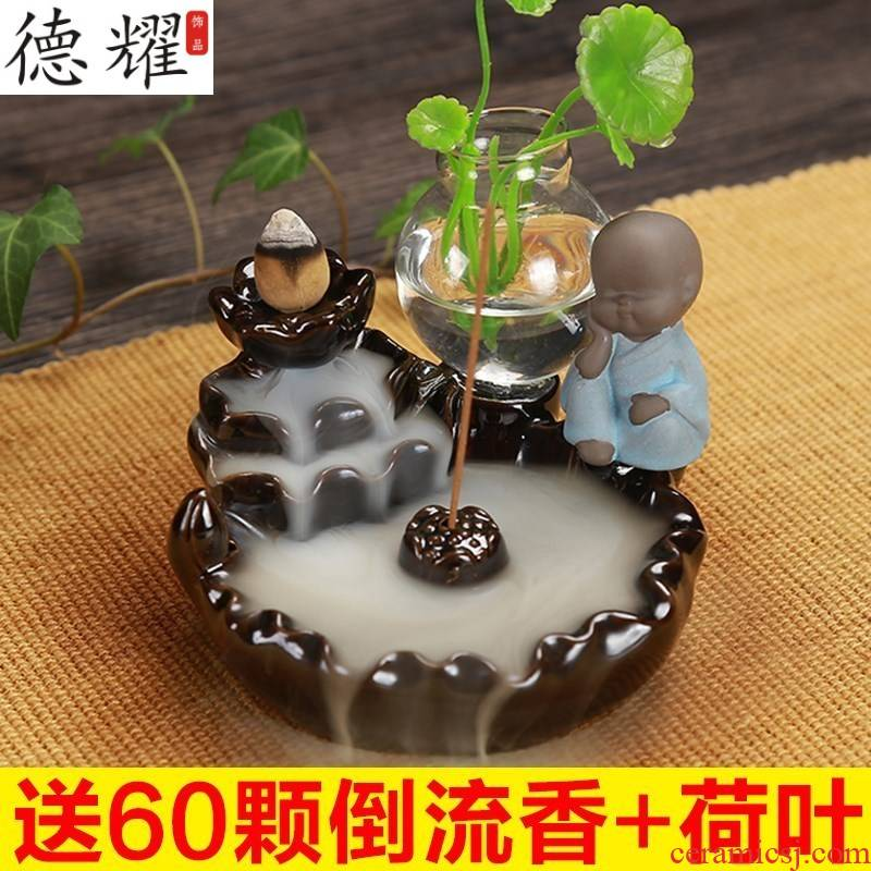 Mammon censer violet arenaceous creative duke guan back aloes sandalwood large smoked incense buner tea taking household act the role ofing is tasted furnishing articles