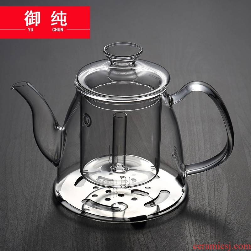 Royal pure induction cooker electric TaoLu dual - use glass transparent glass kettle boiling kettle pot take home the teapot