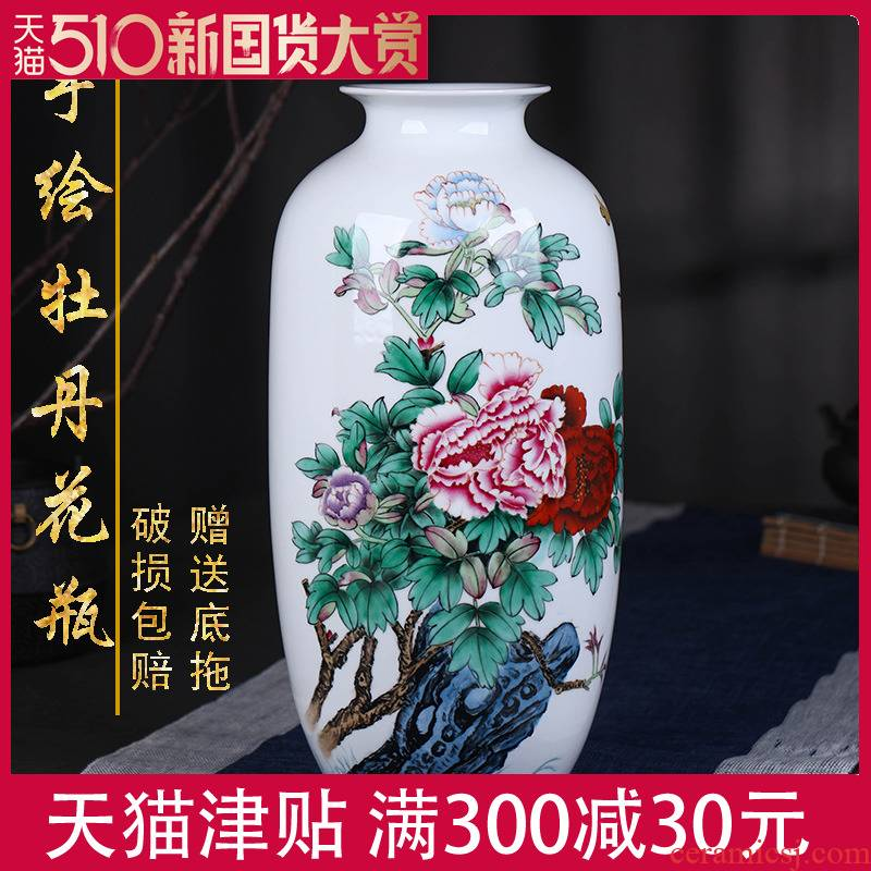 The Master of jingdezhen hand - made ceramic large vase household decorates sitting room rich ancient frame furnishing articles version into gifts